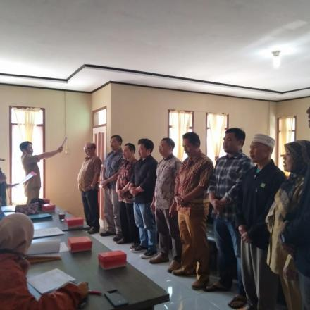 Album : Kegiatan Pelantikan Panitia P2KD Desa Wanasuka